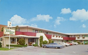 TraveLodge, Townhouse, 444 West MacArthur Blvd., U. S. Highway 50, Oakland, California